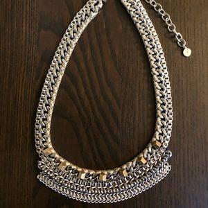 Stella & Dot Cassady Gold/ Silver Collar